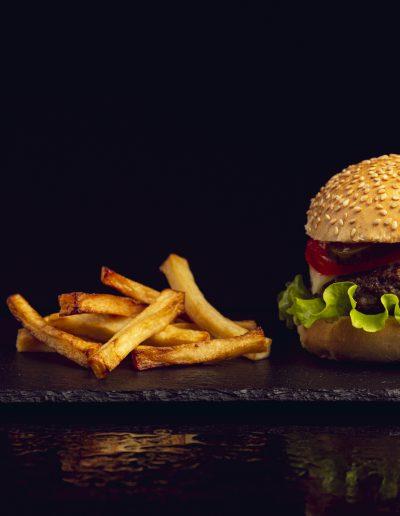 Burger essen in Lohmar